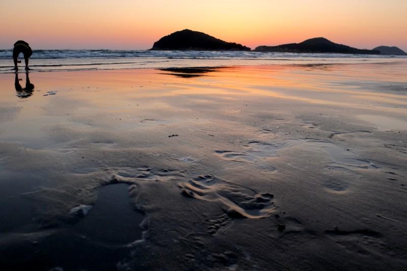 父母ヶ浜|夕焼け写真