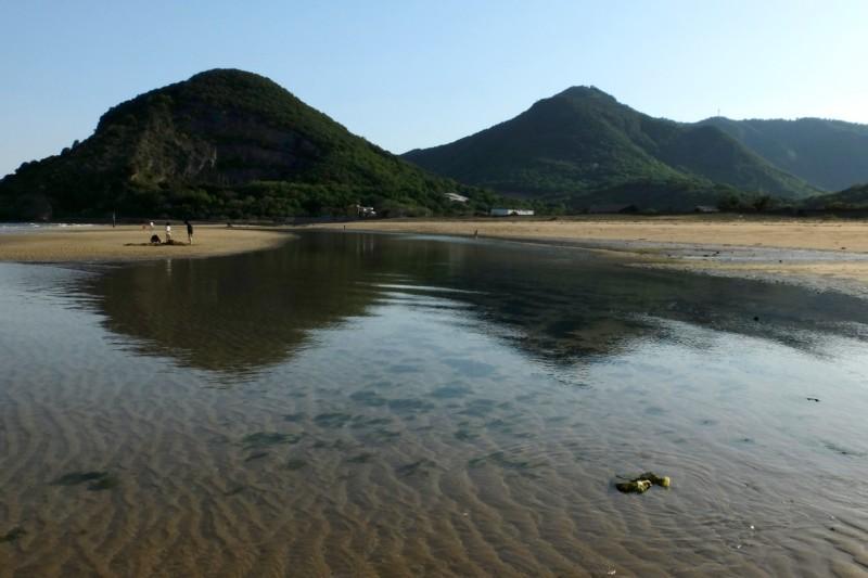 観音寺ファミリーキャンプ場|美しく、遠浅な有明浜