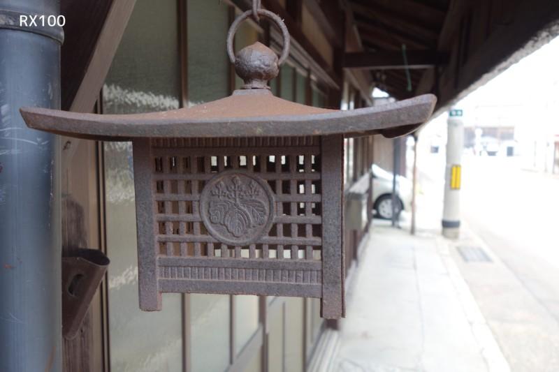 RX100(SONY)で撮影|灯籠