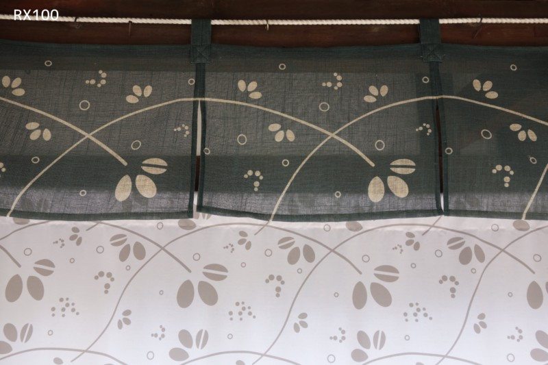 RX100(SONY)で撮影|暖簾