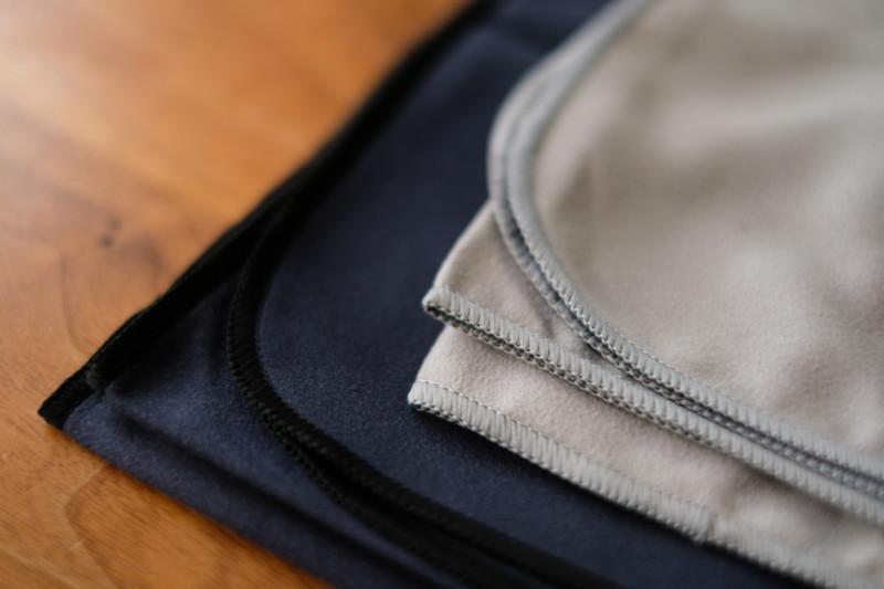 マイクロファイバータオル(THE FRIENDLY SWEDE)|縁の縫製