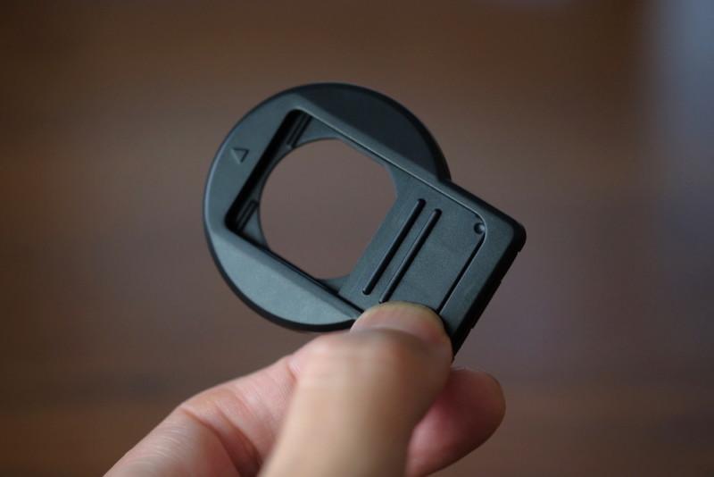 TG-5用UN製レンズプロテクトキャップ|スライド式開閉