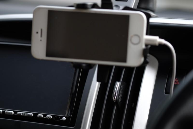 EasyOneTouch2(Smart tap)|スマホがエアコンで冷却できるように設置