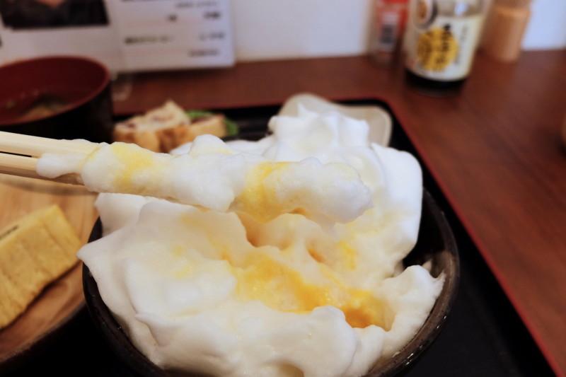 たまごや比良の郷(滋賀)|卵かけご飯のメレンゲ