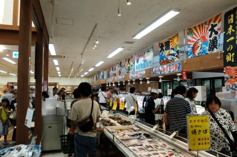 [鳥取・岩美町]道の駅きなんせ|店内の様子