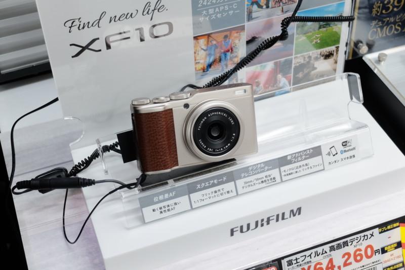 XF10(FUJIFILM)展示機