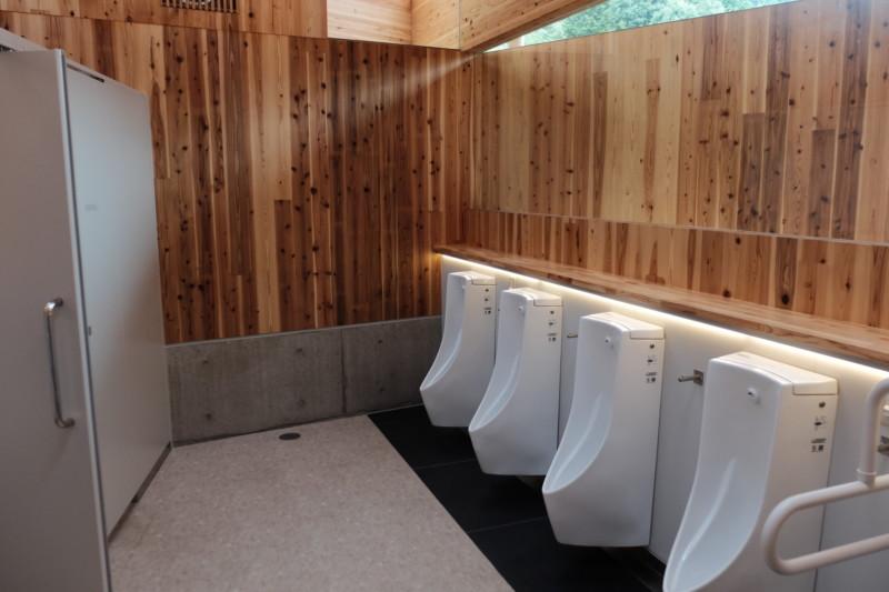 道の駅「あわくらんど」|トイレ