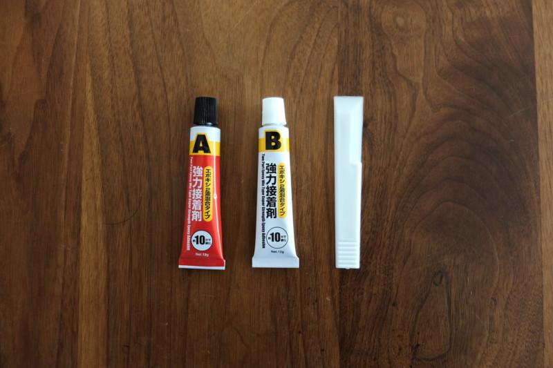 エポキシ接着剤(ダイソー)|内容物