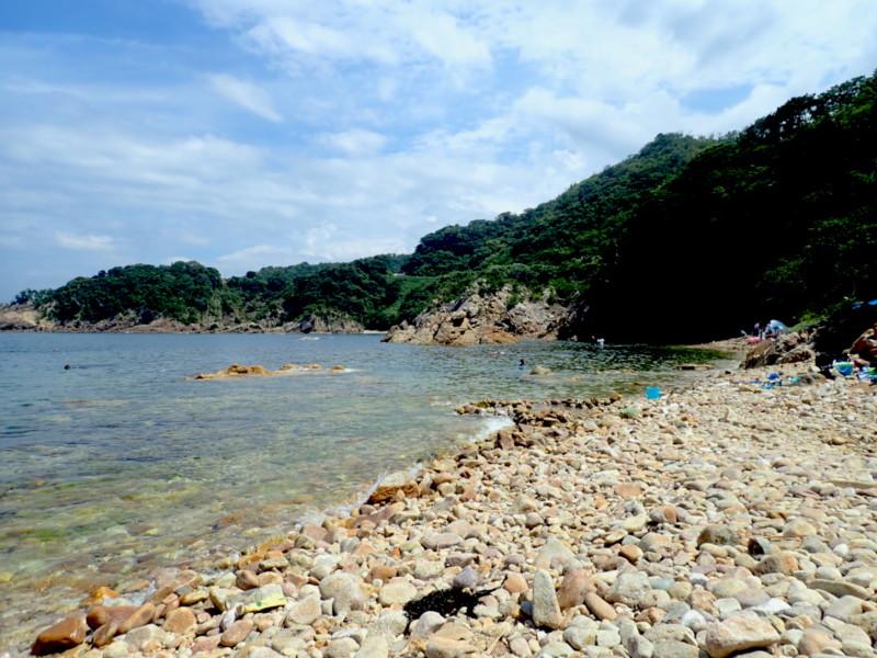 [鳥取]城原海岸|小石ゴロゴロ