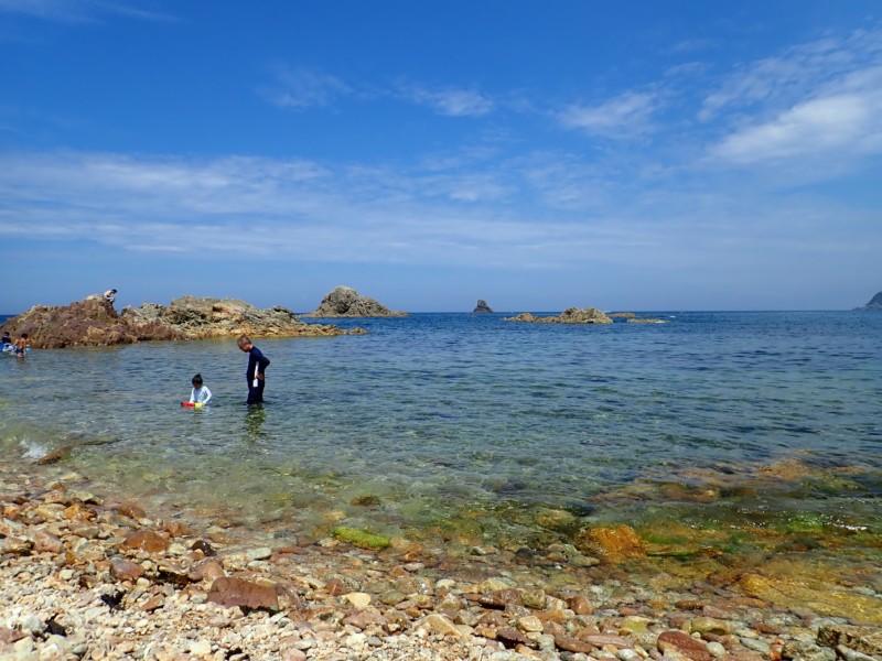 [鳥取]城原海岸|透明度の高い水質