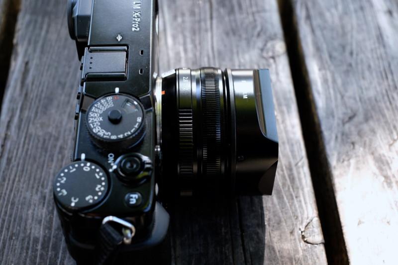 XF18mm F2 R(富士フイルム)|外観