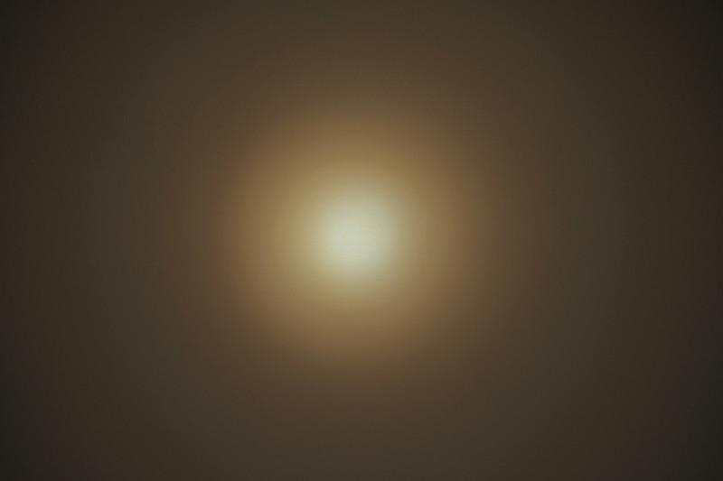 VA-01D(ジェントス)|Warmモードは円形ビーム
