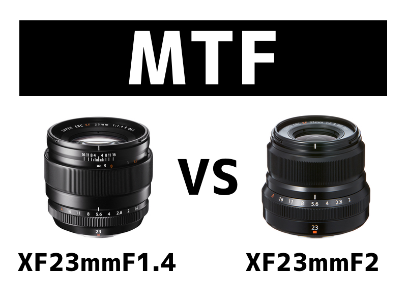 MTF曲線|XF23mm
