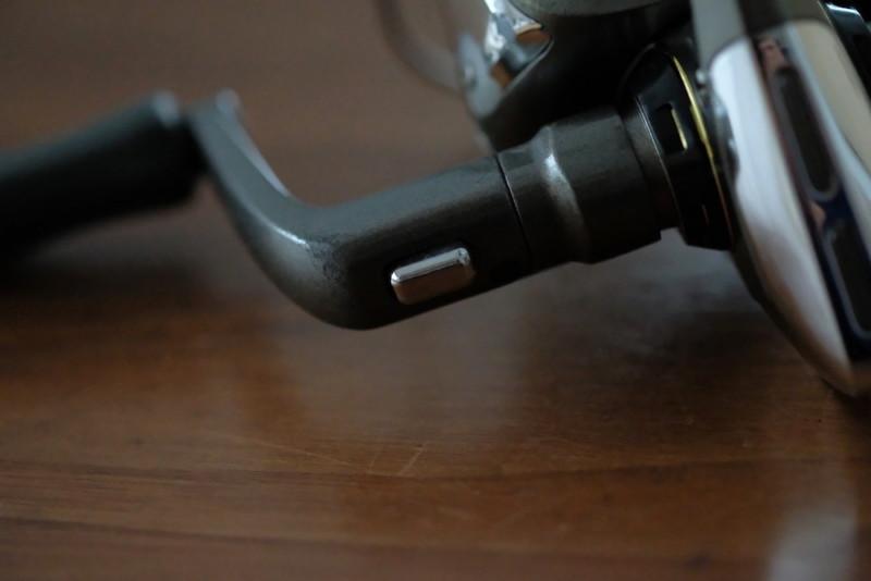 サフィーナ2000(オクマ)|ハンドル折畳み機構