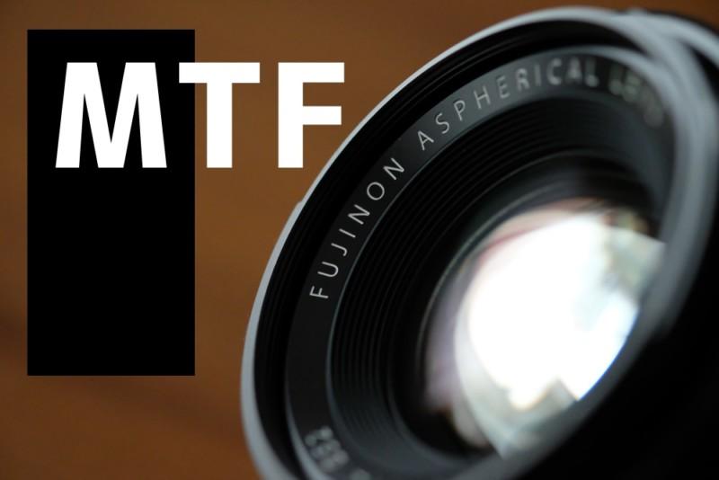 XFフジノンレンズとMTF曲線