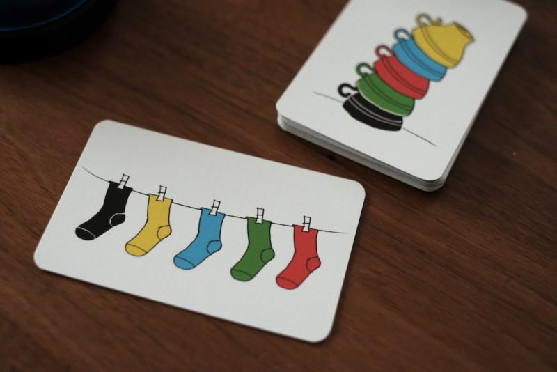スピードカップス(アミーゴ)|課題カード