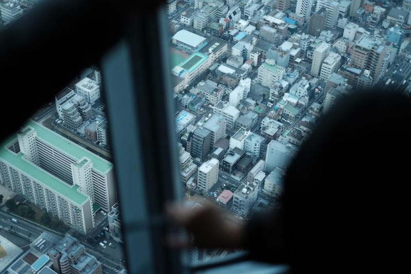 東京スカイツリー|眼下の景色