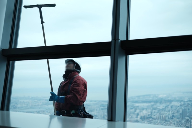 東京スカイツリー|窓掃除