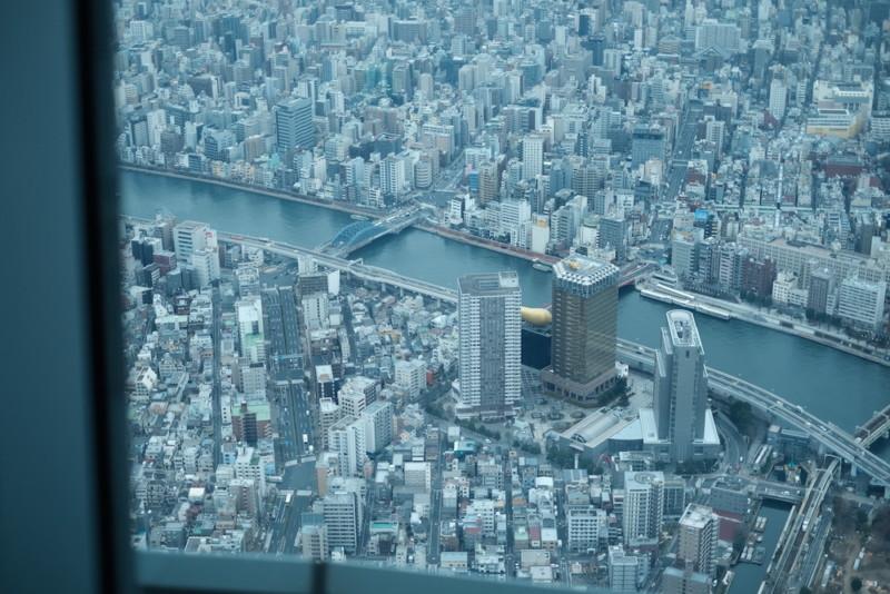 東京スカイツリー|天望回廊から眼下の景色