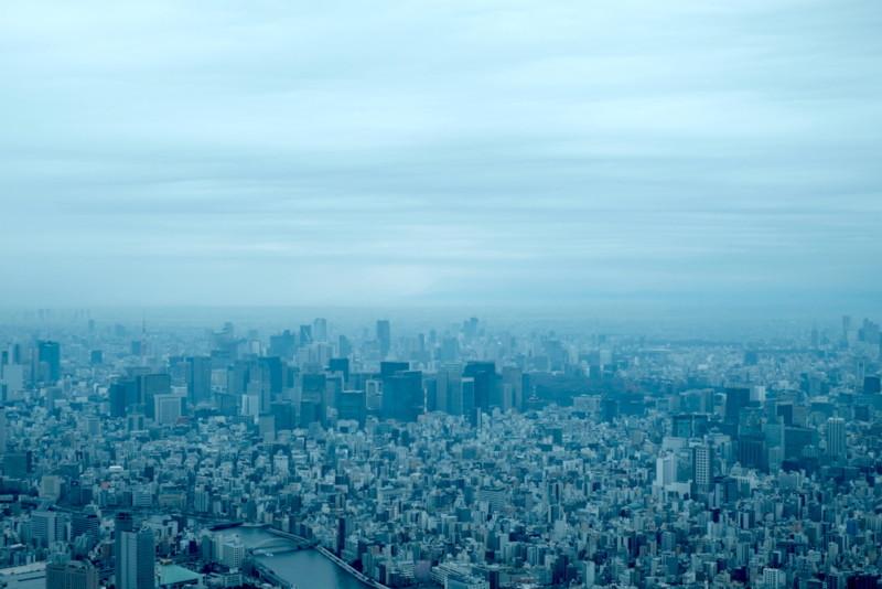 東京スカイツリー|天望回廊からの景色
