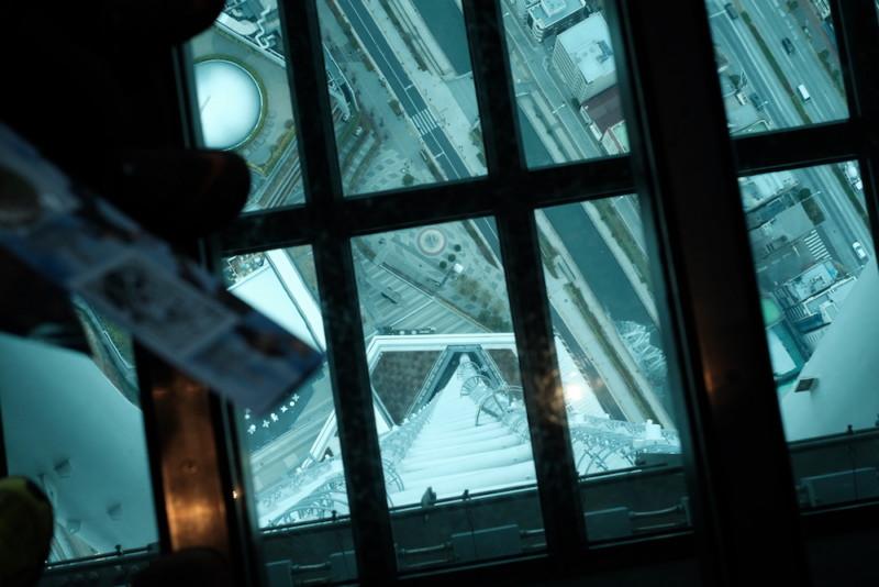 東京スカイツリー|天望デッキのガラス床