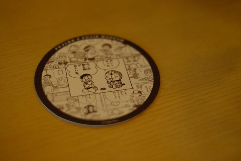 川崎市 藤子・F・不二雄ミュージアム|ミュージアムカフェで貰ったコースター