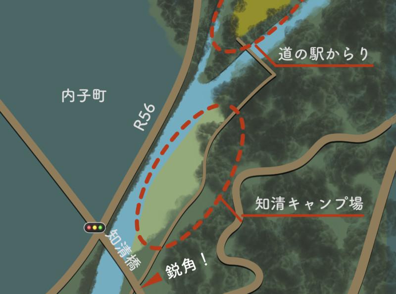 知清キャンプ場(アクセス)
