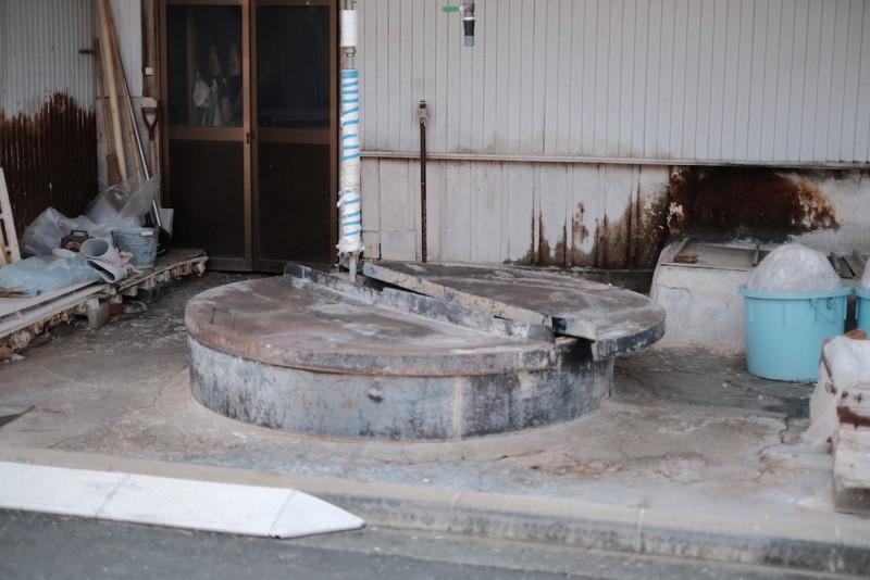 天神産紙工場|和紙の原料を煮る施設