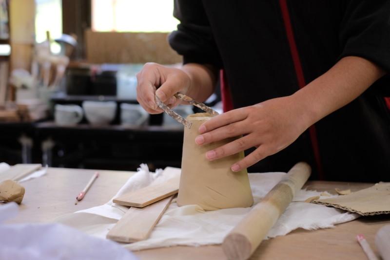 農村工芸体験館(砥部町)|タンブラー制作