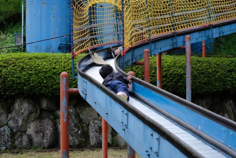 農村工芸体験館(砥部町)|ローラー滑り台