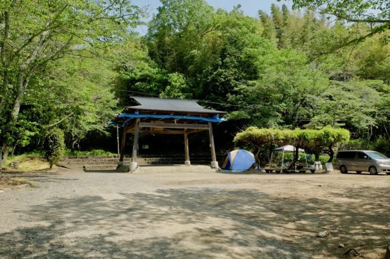 知清キャンプ場(愛媛県内子町)|わんぱく相撲土俵