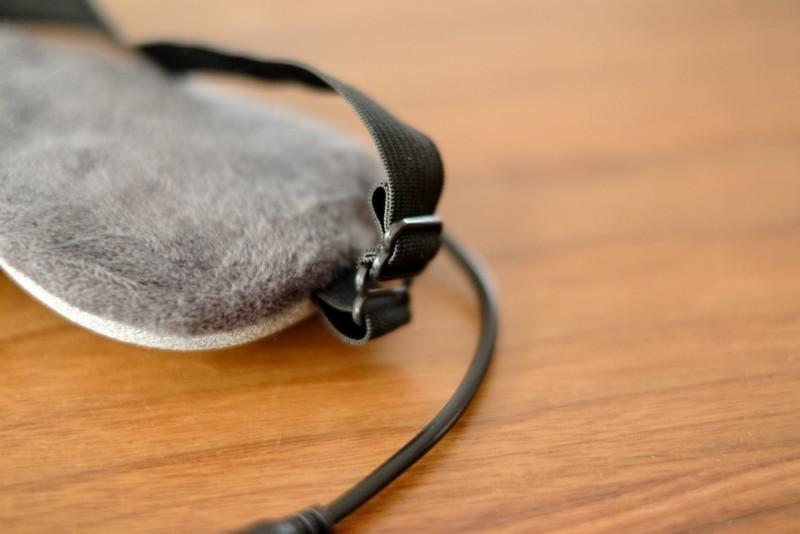USB式ホットアイマスク|ベルト調節