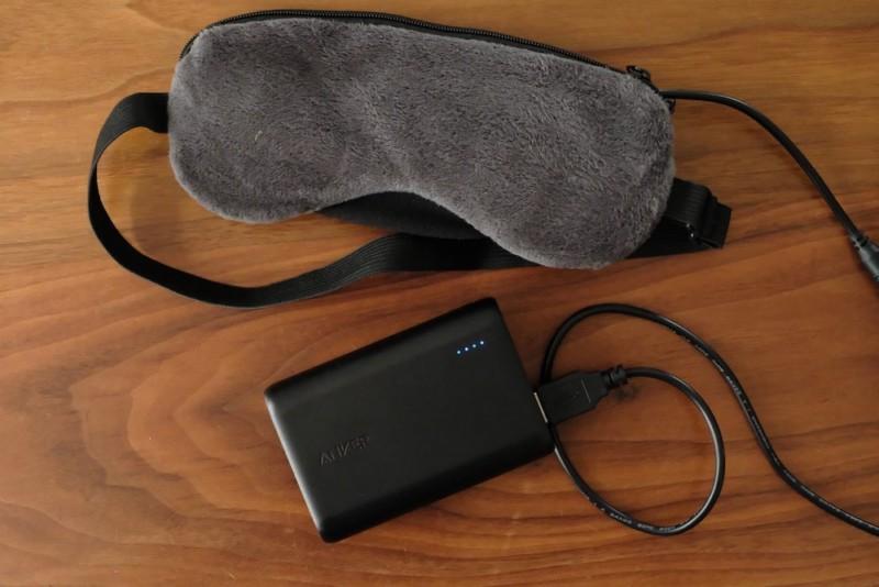 USB式ホットアイマスク|
