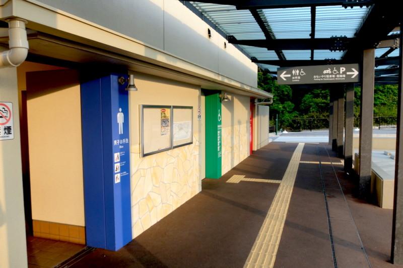 道の駅津かわげ|トイレ