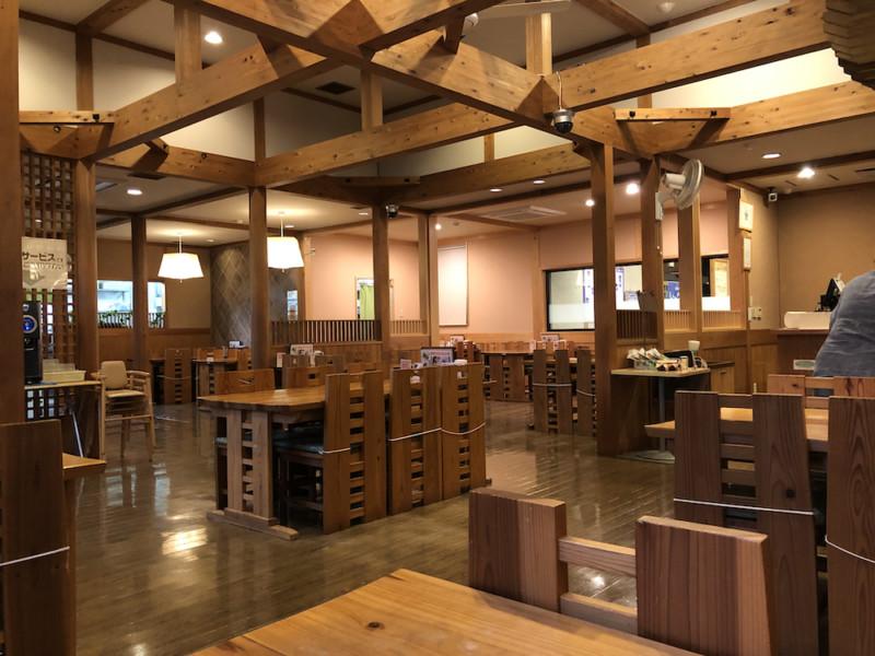 道の駅「飯高駅」|レストランいいたかの店内の様子