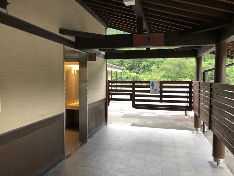 道の駅「飯高駅」|屋外トイレ