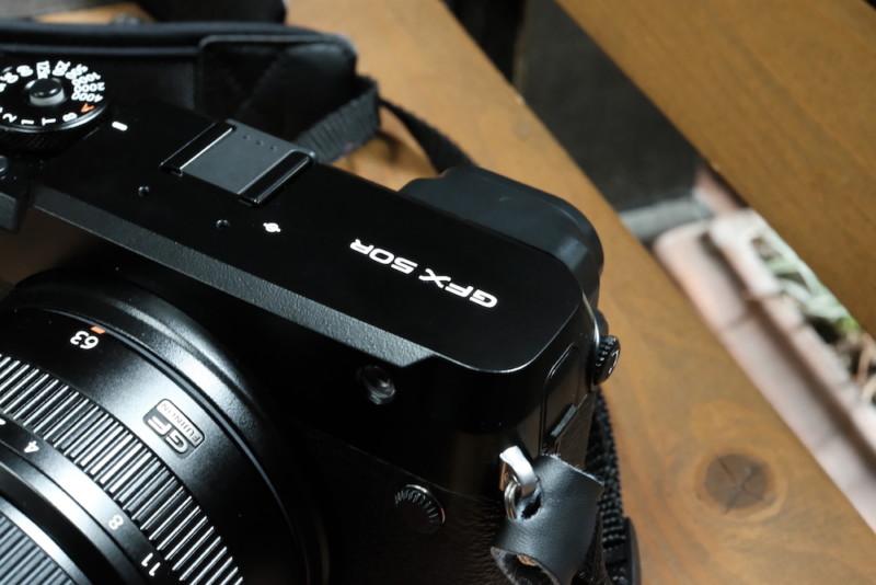 GFX50RとGF63mmF2.8|外観
