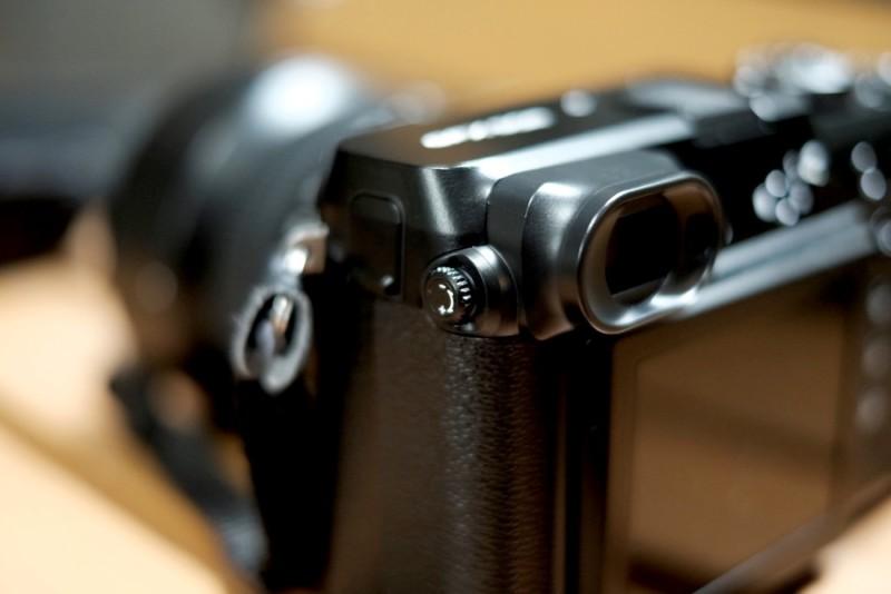 GFX50RとGF63mmF2.8|視度調節ダイヤル