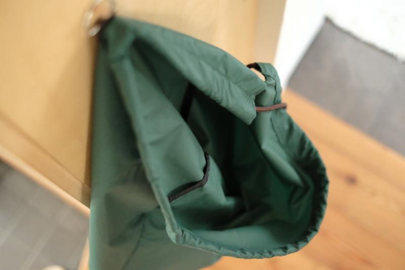 消臭ランドリーバッグ(プロト・ワン)|縫製補強