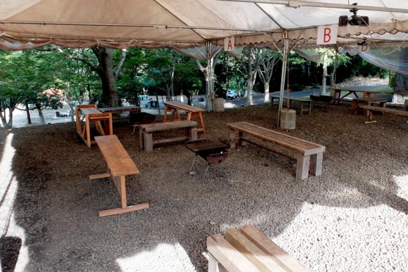 松江市宍道ふるさと森林公園(島根)|バーベキューテント