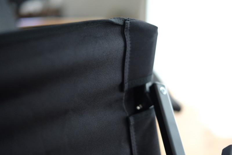 クイックチェア(フィールドア)|縫製具合
