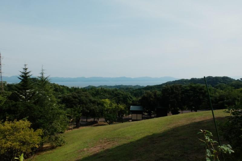 松江市宍道ふるさと森林公園(島根)|宍道湖を眺める