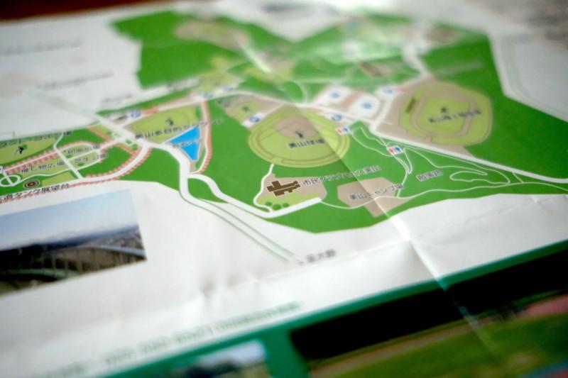 美山公園キャンプ場(新潟・糸魚川市)|美山公園案内図