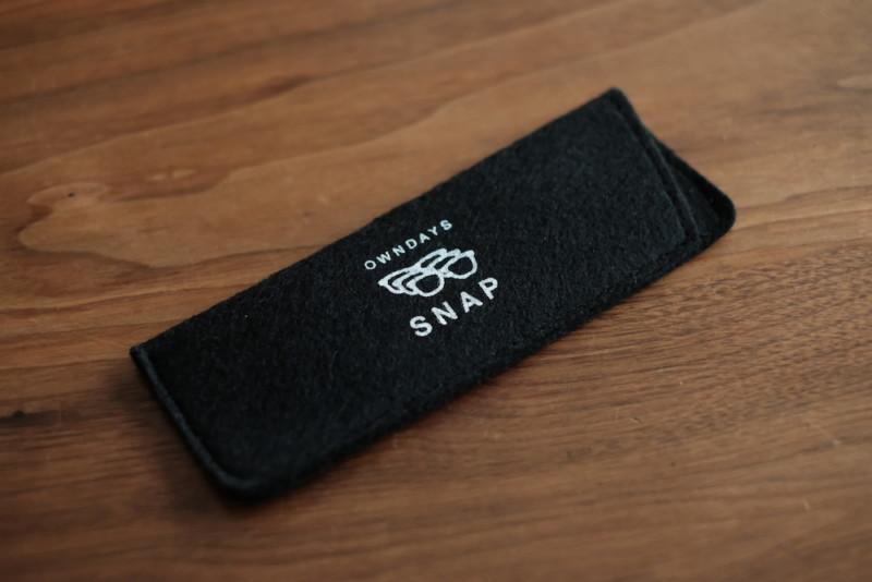 SNAP(オンデーズ)|カラーレンズ用ケース
