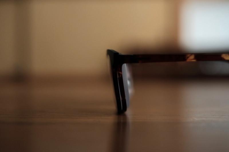 SNAP(オンデーズ)|ド近眼なので薄型非球面レンズでも厚い