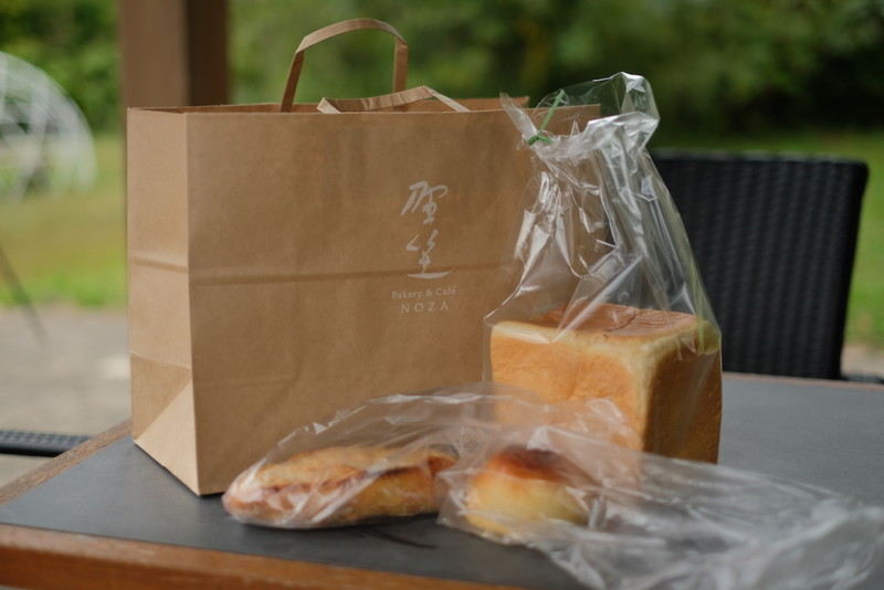 Bakery&Café 野坐|購入したパンの数々