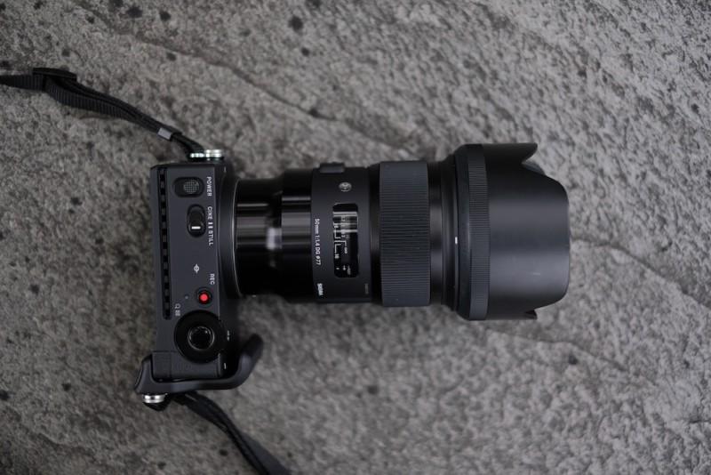 SIGMA fp|50mm F1.4 DG HSMとの組み合わせ