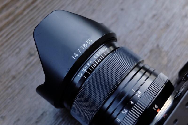 XF14mmF2.8 R(FUJIFILM)|外観