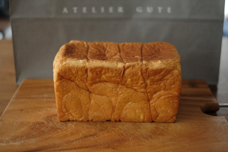アトリエグーテの食パン「プレミアムプラス」|全体