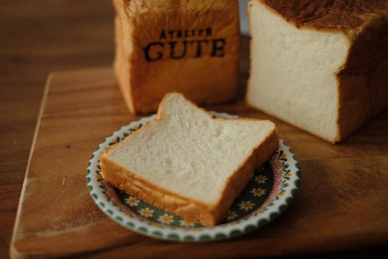 アトリエグーテの食パン「プレミアムプラス」|スライス